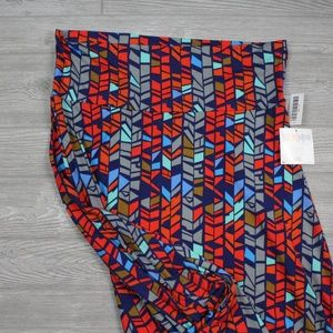 LuLaRoe Maxi Skirt Geometric Pattern Sz 3XL